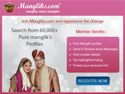 Are you looking for Manglik Life Partner?