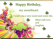 Heartfelt birthday msg collection now available at Smsoye.in